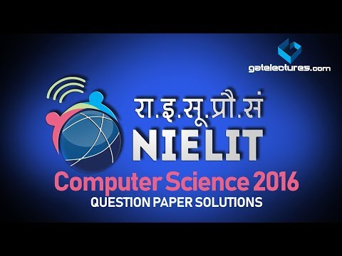 NIELIT CS Paper Q60 to 90 Solution  National Institute of Electronics & Information Technology