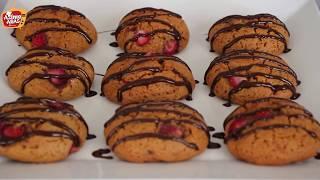 Pastane Usulu Çilekli kurabiye tarfi/Azime Aras