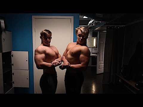 Chest Workout With 16 Year Old Gabriel Pettersen And Storm Martinussen