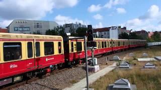 Berlin S-Bahn Class 480 ベルリンSバーン480型 オストクロイツ駅到着