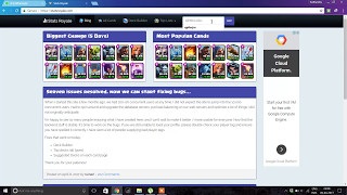Clash Royale New Cards Deck  ; How to use Stats Royale new decks , New Cards , Profile Stats