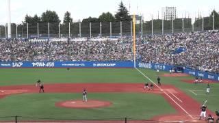 ヤクルト デニング勝ち越し満塁アーチ! (2015.6.7神宮球場)