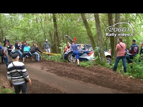 WRC Germany 2017 Shakedown + MISTAKES_By 206GT