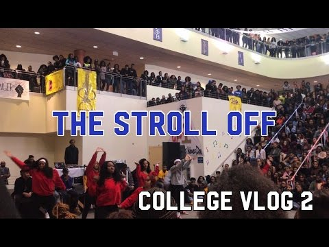 COLLEGE VLOG 2 | HAMPTON UNIVERSITY 2017 STROLL OFF