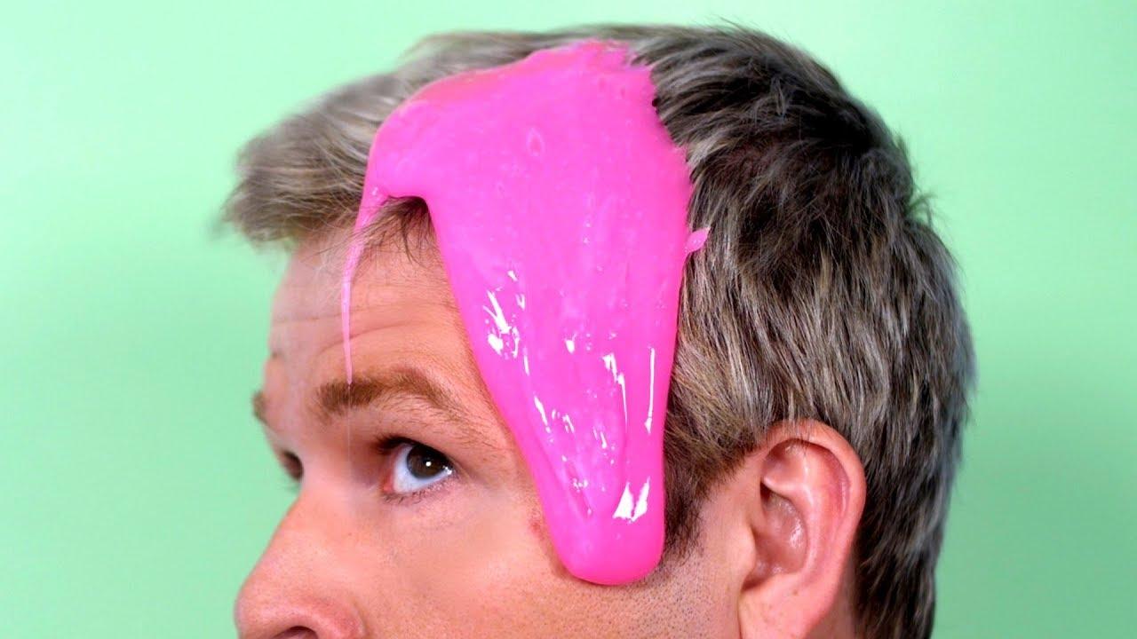 Glue Slime Stuck In Hair Youtube