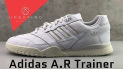Adidas A.R Trainer 'Ftwr White/Raw White/Off White' | UNBOXING & ON FEET | fashions shoes | 2019