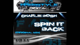 **Out Now** FD03 - Charlie Bosh - Spin It Back