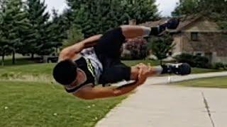 how to do a side flip parkour tutorial