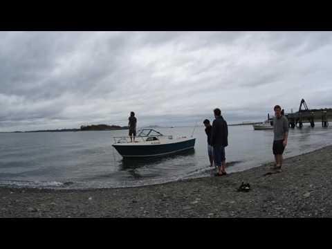 Lovells Island Boston Harbor - boating campfire timelapse