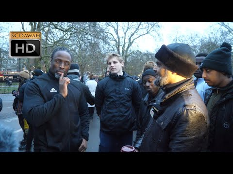 P1 - No Answer!? Hashim Vs Christian | Speakers Corner | Hyde Park