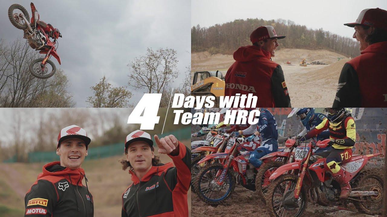 Team Honda Mundial MX - Bastidores - Vídeo