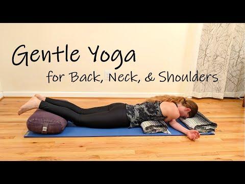 Restorative Yoga for Back, Neck, and Shoulder Tension