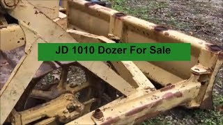 1010 John Deere Dozer Running - For Sale