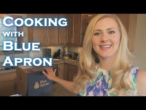 ASMR 🍲 Cooking Session w/BlueApron 🍲 Soft Spoken / Oddly Satisfying /