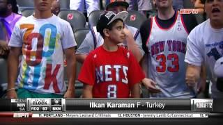 NBA 2012 Draft'inda Ilkan Karaman'in secilmesi üzerine Brooklyn Nets Taraftari:)