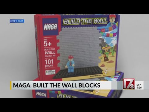 - A Build the Wall Toy... For the xenophobic kid in your life