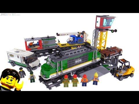 LEGO City 2018 Cargo Train review 60198