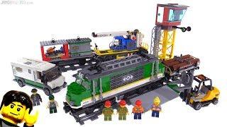 Baixar LEGO City 2018 Cargo Train review! 60198