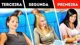 A Maneira Como Desembarcamos dos Aviões Não Faz Nenhum Sentido, Eis o Porquê