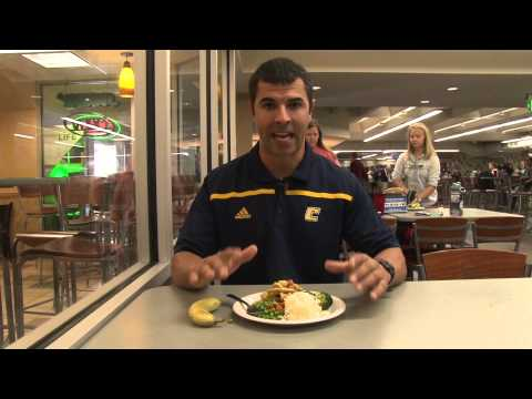 Inside Chattanooga Football: Nutrition Feature