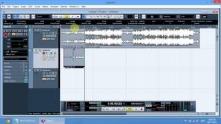 Hướng dẫn sử dụng Cubase để thu âm