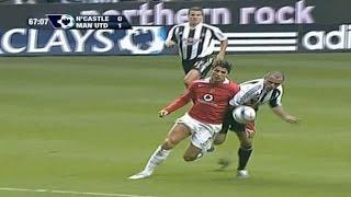 cristiano ronaldo vs newcastle away 05 06 by hristow