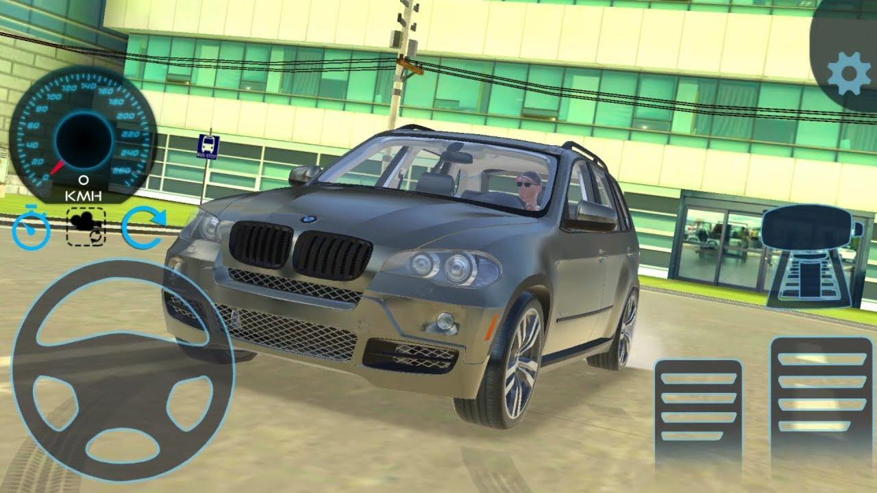 Araba Oyunlari Direksiyonlu Bmw X5 Drift Araba Surus Simulatoru