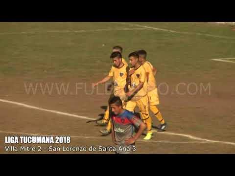 LIGA TUCUMANA: San Lorenzo de Santa Ana logró un triunfazo en su visita a Villa Mitre