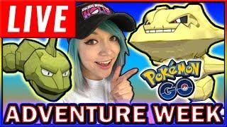 LIVE: SHINY ONIX ADVENTURE WEEK Pokémon GO