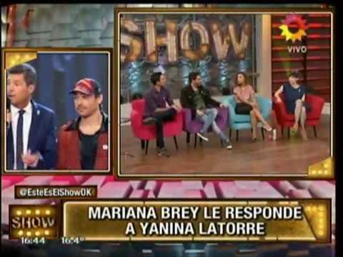 Así reaccionó Mariana Brey cuando le preguntaron por su relación con el hermano de Pedro Alfonso