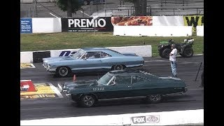 1965 PONTIAC 2+2 CATALINA 421-TRI POWER- 4-SPEED DRAG RACING THE 1/4 MILE.