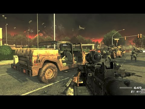 Town Defense - Wolverines! - Call Of Duty: Modern Warfare 2 Remastered