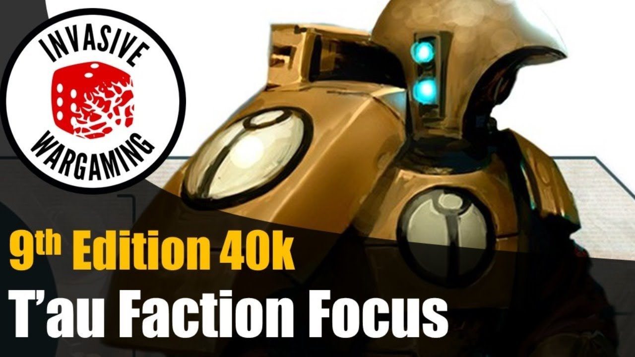 T'au Faction Focus - Overwatch and FLY in 9th Edition 40k