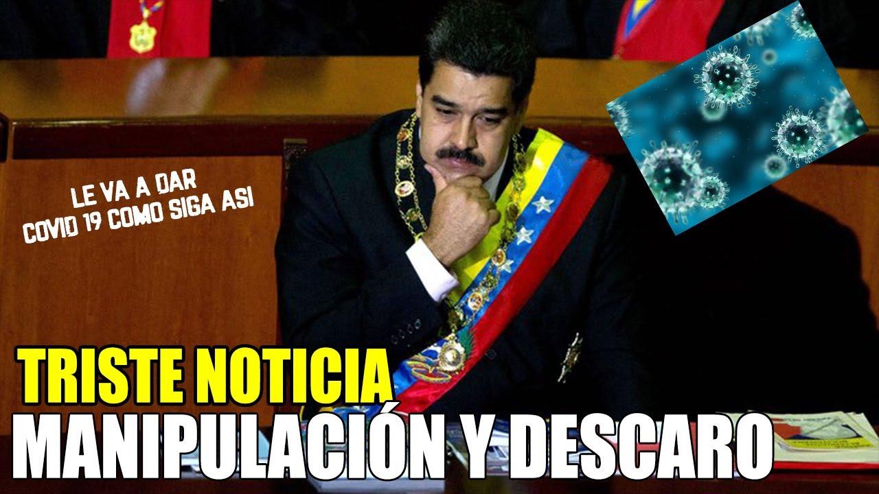 Triste Noticia Venezuela Nicolas Maduro No puede Mas con esta Noticia