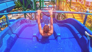 Racer Water Slide - Pineapple Express at Hawaiian Falls Roanoke