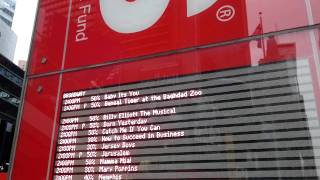 Русские туристы в Америке: Нью Йорк, билеты на мюзиклы
