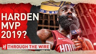 Did James Harden Take MVP? | Through The Wire Podcast