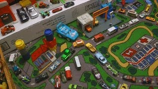 FUN CARS PLAY SET with HOTWHEELS TRACKS Kids Playmat Creativity IMAGINATION