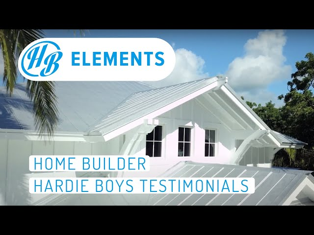 Home Builder | Hardie Boys Testimonial