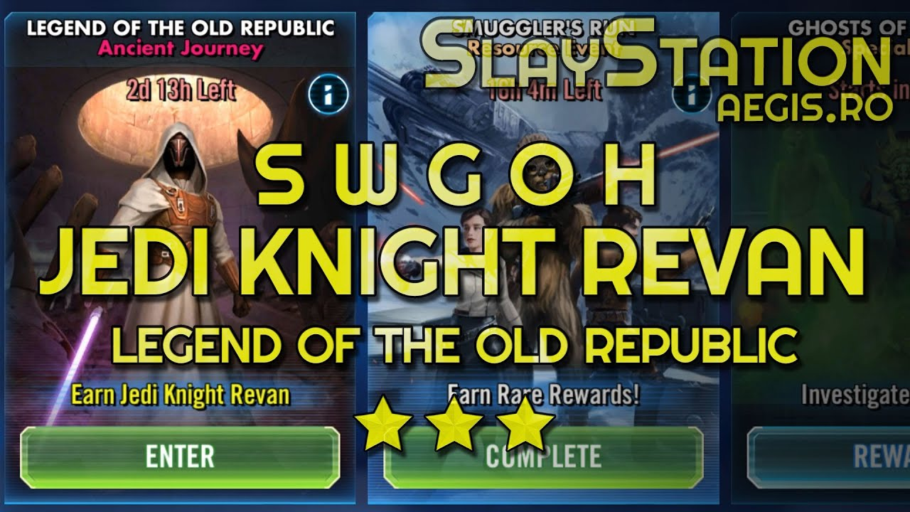 Jedi Knight Revan Guide | | Ægis