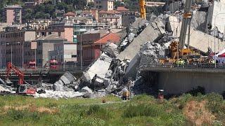 Nach Brückeneinsturz: Notstand für Genua ausgerufen