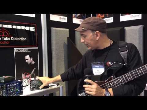 Winter NAMM 2014 Radial Bassbone OD