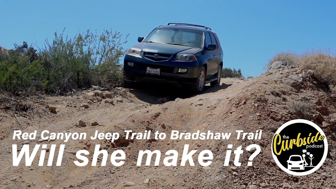 Can an Old First-Gen Acura MDX Go Off Road? | Red Canyon Jeep Trail