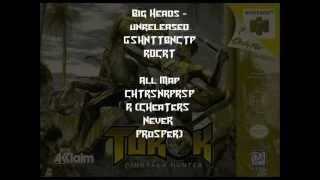 n64 turok dh entire cheats list with unreleased cheats