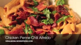 Chicken Penne Chili Alfredo - Viral Menu