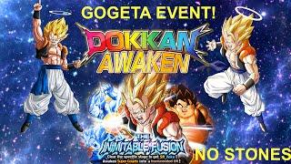 GOGETA EVENT 40 STAMINA Z HARD (no stones) + Gogeta Awakening Dokkan battle
