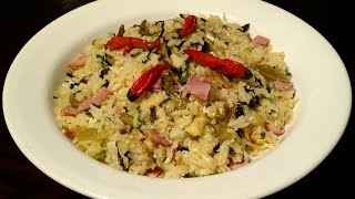Fried Rice With Pickled Mustard Greens