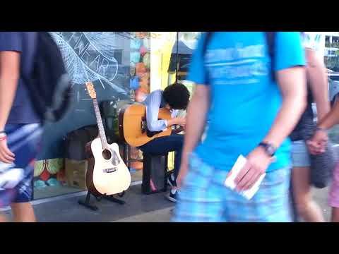 Guitar Busker - Cairns Australia 2013