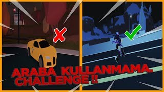USE CAR CHALLENGE! /Roblox Jailbreak/Roblox Turkish