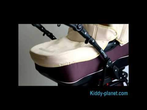 Видео обзор коляски 2 в 1 Adamex Nitro, цвет 13М